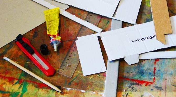 Paperstand - papírový stojan na notebook