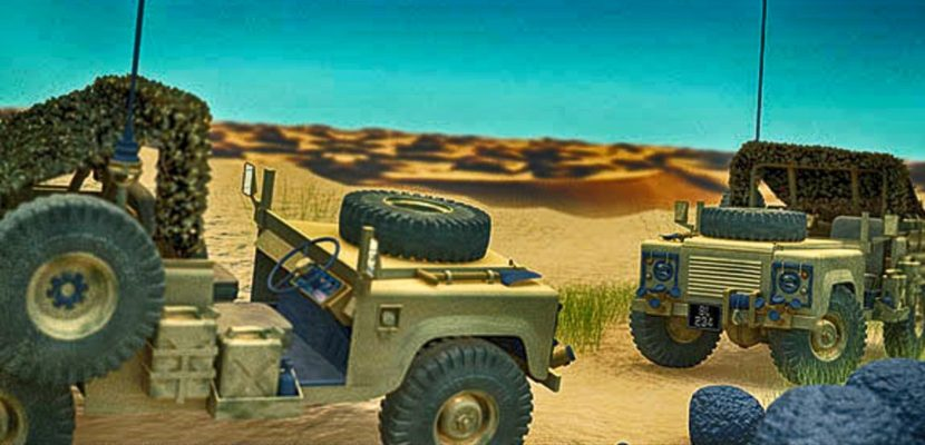 Land Rover 3D Render