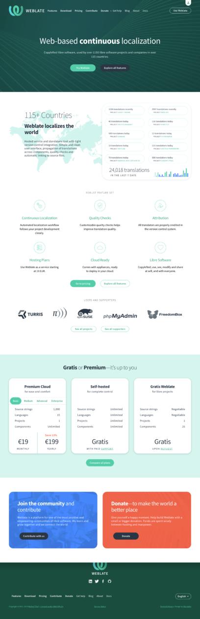 Weblate Continuous Translation
